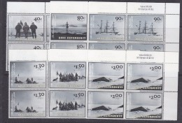 Ross Dependency 2002 The Discovery Expedition 6v  Bl Of 4 (corners)** Mnh (32564A) - Ongebruikt