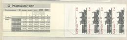 1991 MNH Danmark, Booklet S57  Postfris - Carnets