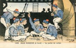 CARTES A JOUER(ILLUSTRATEUR JARRY) MARIN - Cartes à Jouer