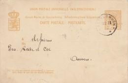 Entier Postal Luxembourg. Scan R/V. - Enteros Postales
