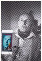 Carte Maximum FRANCE N° Yvert 2900a (BOURVIL) Obl Sp Ill 1er Jour (Ed Castelet) - 1990-99