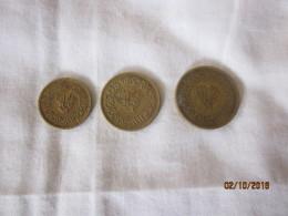 Yemen: Lot De 3 Monnaies 1963 (1/2, 1 & 2 Bushqa) - Yemen