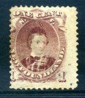 Newfoundland 1868-73 Definitives - 1c King Edward VII When Prince Of Wales MNG (SG 35) - Newfoundland