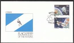 Ciskei Whittlesea 1992 / Flags / Meteorology, Navigation Satellite