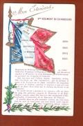 1 Cpa Etendard 9 Em Regiment De Cuirassiers - Régiments
