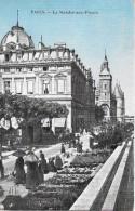 LE MARCHÉ-AUX-FLEURS → De Nombreux Visiteurs Du Marché 1909 - Straßenhandel Und Kleingewerbe