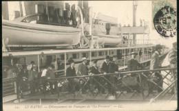 """Débarquement Des Passagers De """"La Provence"""" - Le Havre"""