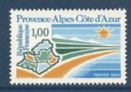 """FR YT 2252 """" Provence-Alpes-Côte D'Azur """" 1983 Neuf** - Neufs"""