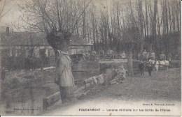 FOUCARMONT - Lessive Militaire Sur Les Bords De L'Yères - France