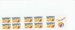 CARNET 10 TIMBRES ADHESIFS VALIDITE PERMANENTE VACANCES  2005 NEUF** BC53  BC 53                TDA144 - Markenheftchen