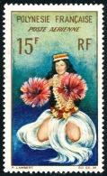 POLYNESIE 1964 - Yv. PA 7 *   Cote= 5,60 EUR - Danseuse Tahitienne ..Réf.POL23115 - Poste Aérienne