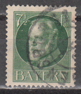 BAVARIA    SCOTT NO. 97    USED     YEAR  1914 - Bavaria