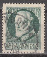 BAVARIA    SCOTT NO.  107   USED     YEAR  1914 - Bavaria
