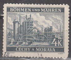 BOHEMIA AND MORAVIA     SCOTT NO.  36     USED     YEAR  1939 - Bohemia & Moravia