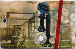 GIBRALTAR PHONECARD BLACK PHONE-GIB-C40-3000pcs -1/01-MINT/SEALED