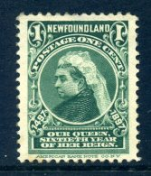 Newfoundland 1897 400th Anniversary Of Discovery Of Newfoundland - 1c Queen Victoria HM (SG 66) - Newfoundland