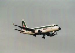 PHOTO AVIATION -  AVION  ALITALIA - Aviazione