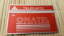 Landis & Gyr Burundi 120 Units 001 B Used  See Quality Scan Very Rare - Burundi
