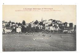 LATOUR D'AUVERGNE  (cpa 63)  Vue Générale (côté Nord-Ouest)    -    - L 1 - Otros Municipios
