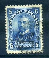 Newfoundland 1897-1918 Definitives - 5c King George V Used (SG 90) - Newfoundland