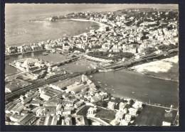CPSM 64 - SAINT-JEAN-DE-LUZ - Vue Aérienne CIBOURE Port Et Plage - Saint Jean De Luz