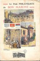 GF002 - LE PETIT PHILATELISTE DU BON MARCHE - GRECE TURQUIE MONTENEGRO - Au Bon Marché