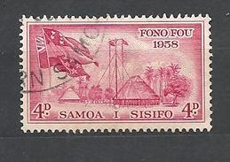 SAMOA   1958 Inauguration Of Samoan Parliament USED - Samoa