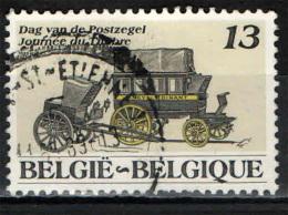 BELGIO - 1989 - DILIGENZA POSTALE - GIORNATA DEL FRANCOBOLLO - USATO - Usados