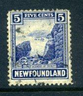 Newfoundland 1923-24 Definitives - 5c Coast At Trinity Used (SG 153) - 1908-1947