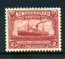 Newfoundland 1928-29 Publicity Issues - 2c S.S. Caribou HM (SG 165) - 1908-1947