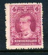 Newfoundland 1929-31 Publicity Issues (PB Printing) - 4c Duke Of Windsor HM (SG 182) - 1908-1947