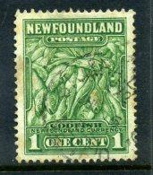 Newfoundland 1932 Definitives - 1c Atlantic Cod Used (SG 209) - 1908-1947