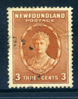 Newfoundland 1932 Definitives - 3c Queen Mary Used (SG 211) - 1908-1947
