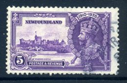 Newfoundland 1935 KGV Silver Jubilee - 5c Value Used (SG 251) - 1908-1947