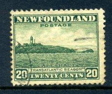 Newfoundland 1941-44 KGVI Definitives (P.12½) - 20c Transatlantic Beacon Used (SG 286) - 1908-1947