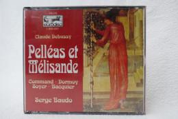 "3 CDs ""Claude Debussy"" Oper Pelléas Et Mélisande, Serge Baudo - Opera"