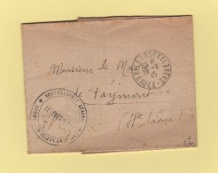 Villersexel - Haute Saone - Franchise - 1945 - Ravitaillement General - Storia Postale