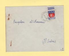 Senoncourt - Haute Saone - 1966 - Postmark Collection (Covers)