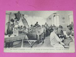 MARLY LE ROI 1910  / SAINT GERMAIN EN LAYE / VERSAILLES / PELOTON CYCLISTE AU TROU D ENFER / - Marly Le Roi