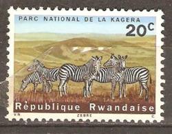 Rwanda 1965 SG 99 Kagera National Park Mounted Mint - 1962-69: Neufs