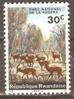 Rwanda 1965 SG 100 Kagera National Park Mounted Mint - Rwanda