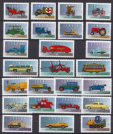 Canada MNH Set - Automobili