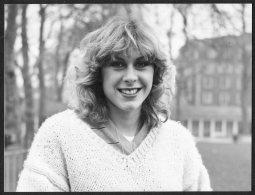 1982 Press Photo - Sharron Davies British Olympic Swimmer (20cm X 15cm) - Famous People