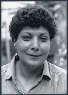 1987 Press Photo By Hanri Gautier - Leila Khaled, Palestine, Israel El-Al Aircraft Hijacking  (18cm X 13cm) - Famous People