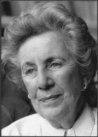1989 Press Photo By Jane Bown - South Africa, Helen Suzman, Politics (18cm X 13cm) - Famous People