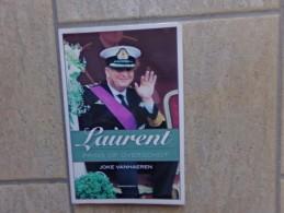 Laurent, Prins Op Overschot Door Joke Vanhaeren, 128 Blz.,eerste Druk 2003 - Livres, BD, Revues