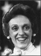 1984 Press Photo By Shepard Sherbell - USA, Joan Mondale, Walter Mondale, Politics (16cm X 12cm) - Famous People