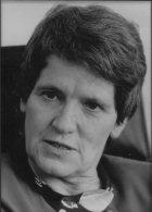1990 Press Photo - West Germany Politics, Rita Sussmuth (18cm X 13cm) - Famous People