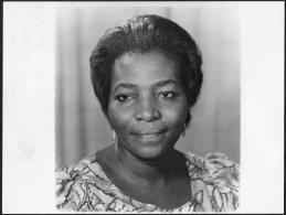 1981 Press Photo - Ghana, Adisa Munkaila, Labour & Social Reform Minister, Politics (20cm X 15cm) - Famous People