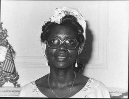 1981 David Fowler, Cheyne Walk, Horley Press Photo - Liberia, Minite Moniba, Politics (20cm X 15cm) - Famous People